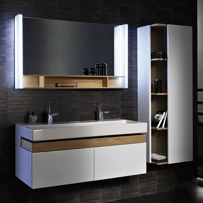 Terrace 120 подвесная Белый лакМебель для ванной<br>Подвесная тумба под раковину Jacob Delafon Terrace 120 EB1188-G1C с тремя выдвижными ящиками.<br>Совмещает в себе элегантность и непревзойденную функциональность. Утонченный стиль тумбы дополнит большинство современных ванных комнат.<br>Изготовлена из МДФ/ЛДСП и покрыта глянцевым полиуретановым лаком высокого качества. Материалы устойчивы к выцветанию и предназначены для использования в помещениях с повышенной влажностью.<br>Три выдвижных ящика со встроенными доводчиками. Верхний ящик, изготовленный из цельного дерева, предназначен для хранения аксессуаров. Нижние ящики более глубокие и подойдут для хранения объемных предметов.<br>Мягкий и плавный ход ящиков с функцией Soft Close. Открываются по нажатию.<br>Цвет: белый лак.<br>Монтаж: подвесной.<br>В комплекте поставки: тумба под раковину.<br>