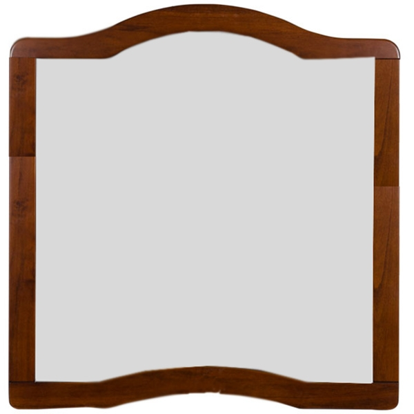 Aretusa 100 ОрехМебель для ванной<br>Подвесное зеркало Aquanet Aretusa 100 00178555 в резной раме. Грациозно изогнутые линии, насыщенный цвет и неповторимость природного рисунка натурального дерева олицетворяют великолепие классики. Утонченность дизайна прекрасно сочетается с функциональностью.<br>Конструкция:<br><br>Для использования в ванных комнатах с повышенной влажностью.<br>Рама: массив черешни.<br>Пропитка рамы: специальный состав для защиты от влаги.<br>Широкое зеркальное полотно.<br><br>В комплекте поставки:<br><br>зеркало.<br><br>