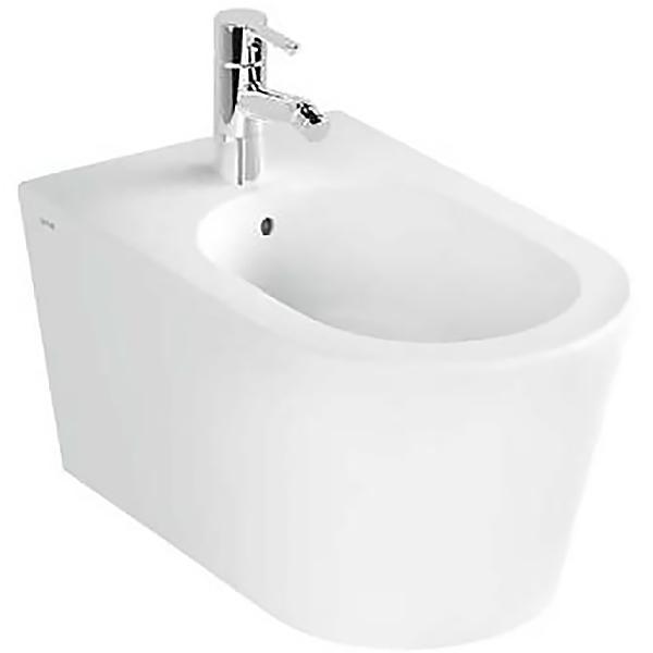 Nest 5174B003-0288 подвесное БелыйБиде<br>Биде Vitra Nest 5174B003-0288 подвесное.<br>Современный дизайн изделия прекрасно впишется в интерьер любой ванной комнаты.<br>Материал: санфарфор толщиной 18 мм, не впитывающий грязь.<br>Одно отверстие под смеситель.<br>Слив-перелив.<br>