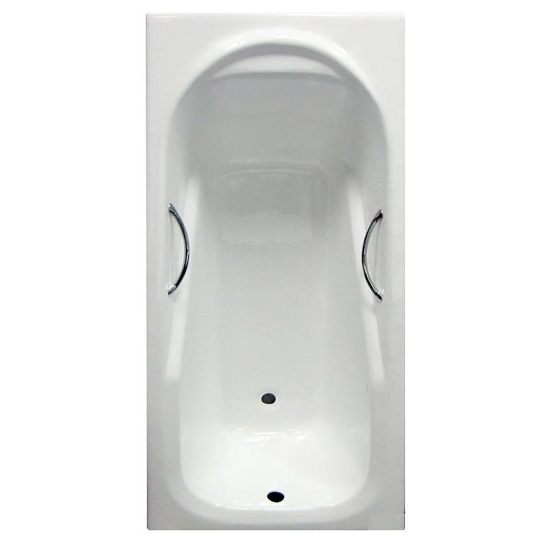 Чугунная ванна Castalia Carina 170х75 с антискользящим покрытием сиденье belbagno carina bb1077sc