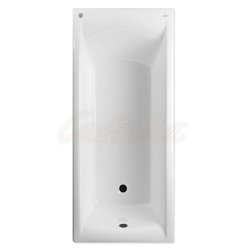 Чугунная ванна Castalia Prime 170х75 с антискользящим покрытием чугунная ванна castalia 150х70 с антискользящим покрытием