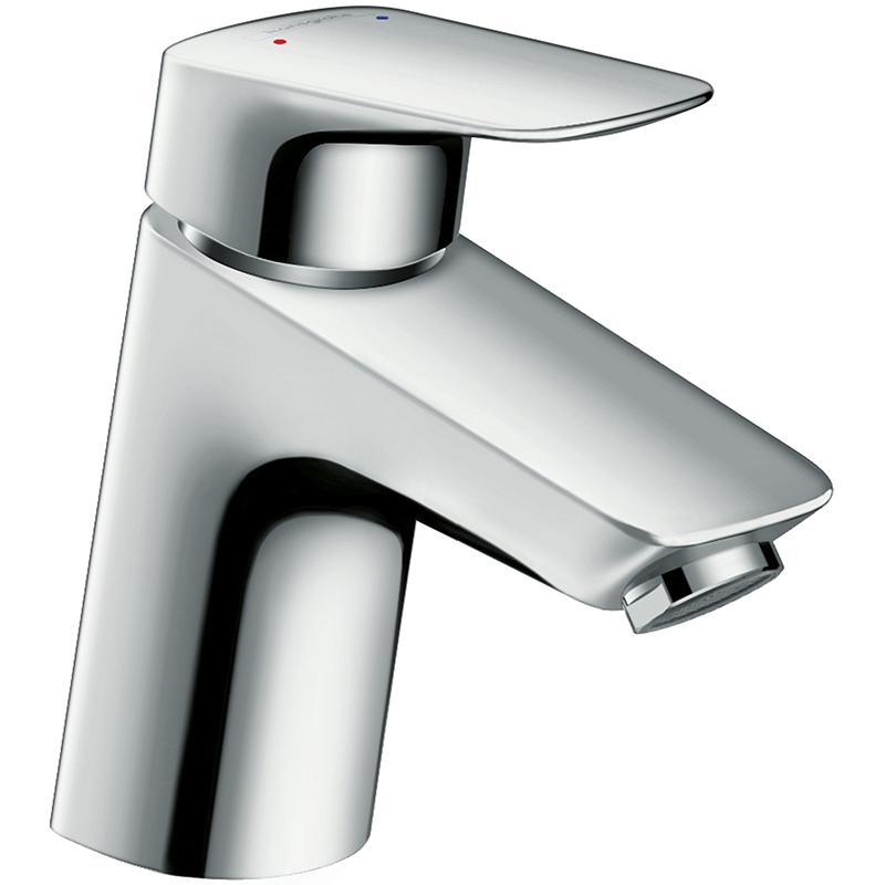 Logis 71070000 ХромСмесители<br>Смеситель для раковины Hansgrohe Logis 71070000 с донным клапаном.<br>Лаконичный дизайн с плавными изгибами.<br>Особенности:<br>Керамический картридж,<br>Аэратор с технологией EcoSmart, расходующий на 60% меньше воды,<br>Расход воды: 5 л/мин,<br>Совместим с проточными водонагревателями.<br>