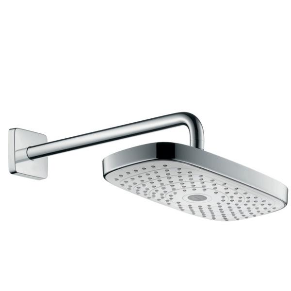 Купить Верхний душ, Raindance Select Е 30 27385400 Хром/Белый, Hansgrohe, Германия