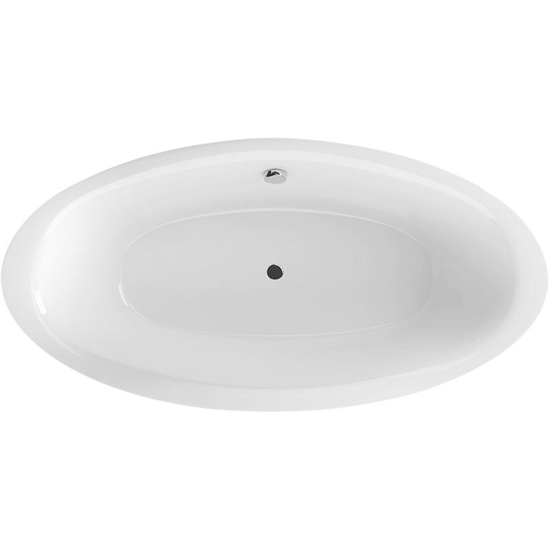 Lumina 190 БелаяВанны<br>Excellent Lumina 190 ванна акриловая, овальная.<br>