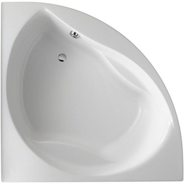Акриловая ванна Jacob Delafon Presquile 145x145 E6045RU-00 без гидромассажа ванна из искусственного камня jacob delafon elite 170x75 с щелевидным переливом e6d031 00 без гидромассажа