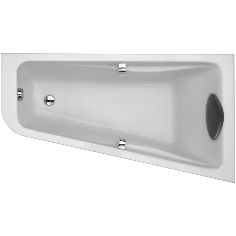 Odeon Up 160x90 L без гидромассажаВанны<br>Акриловая ванна Jacob Delafon Odeon Up 160х90 L E6065RU-00 асимметричная, установка в левый угол.<br>Изящный дизайн ванны совмещен с функциональностью и удобством. Универсальный стиль этой модели дополнит интерьер большинства современных ванных комнат.<br>Изготовлена из акрила - прочного и приятного на ощупь материала. Благодаря низкой теплопроводности акрил долго сохраняет тепло воды.<br>Толщина акрилового листа: 4-6 мм,<br>Дно ванны усилено листом ДСП и армировано.<br>Смягченные углы с внутренней стороны чаши ванны облегчают уход.<br>Плавный наклон спинки, повторяющий анатомические особенности тела человека. Встроенные подлокотники обеспечивают дополнительный комфорт.<br>Цвет: белый.<br>Монтаж: на каркасе.<br>В комплекте поставки: чаша ванны.<br>