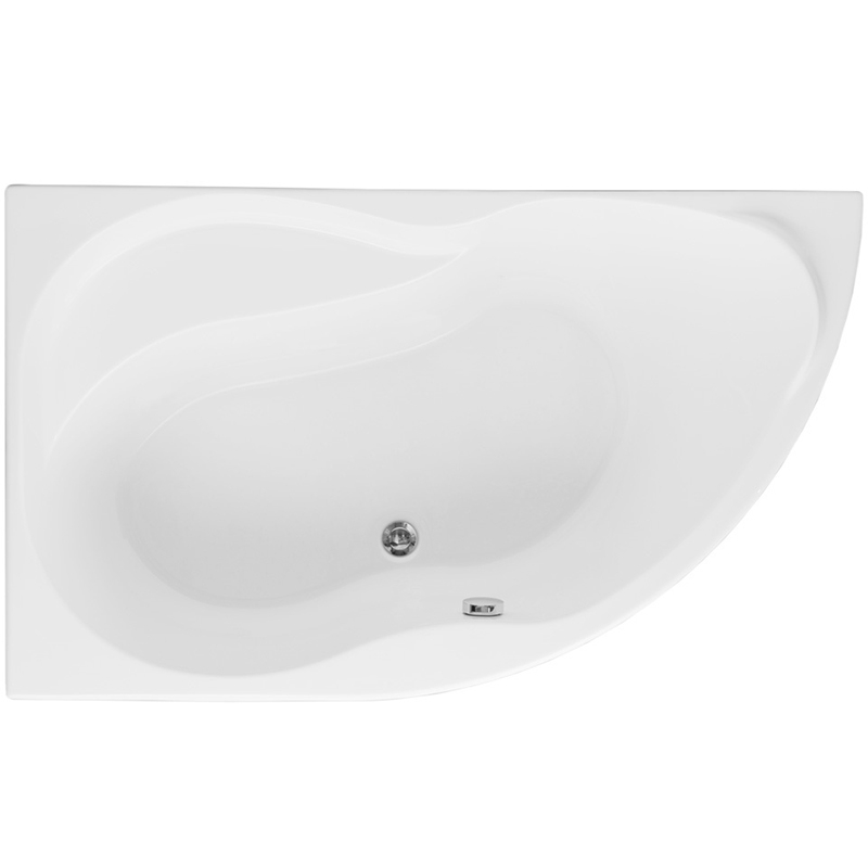 Graciosa 150x90 с гидромассажем RВанны<br>Акриловая ванна Aquanet Graciosa 150x90 R асимметричной формы.<br>Установка в правый угол.<br>Вместительная ванна с изящным дизайном дополнит интерьер ванной комнаты в современном стиле.<br>Изготовлена из качественного акрила: гладкого и теплого на ощупь материала. Он быстро нагревается и долго сохраняет тепло воды. Благодаря отсутствию пор на поверхности не скапливается грязь и микробы.<br>Антискользящее покрытие (специальные насечки на дне ванны).<br>Размер: 150x90x67 см.<br>Глубина: 45 см.<br>Объем: 205 л.<br>Гидромассажная система:<br>Плоские форсунки, плотно прилегающие к поверхности ванны. Ручная регулировка направления потока воды, индивидуальное включение или выключение каждой форсунки. <br>6 гидромассажных форсунок диаметром 77 мм.<br>Материал: латунь.<br>Цвет: хром.<br>В комплекте поставки: ванна, каркас, гидромассажная система.<br>