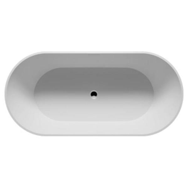 Ванна из искусственного камня Riho Bilbao 150x75 без гидромассажа ванна из искусственного камня jacob delafon elite 170x75 с щелевидным переливом e6d031 00 без гидромассажа