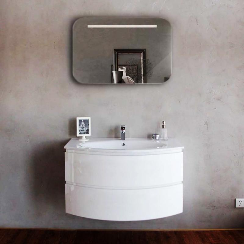 Prospero 100 подвесная Bianco LucidoМебель для ванной<br>Тумба под раковину BelBagno Prospero BB1000DCS2C/BL подвесная, с двумя выкатными ящиками, с доводчиками.<br>
