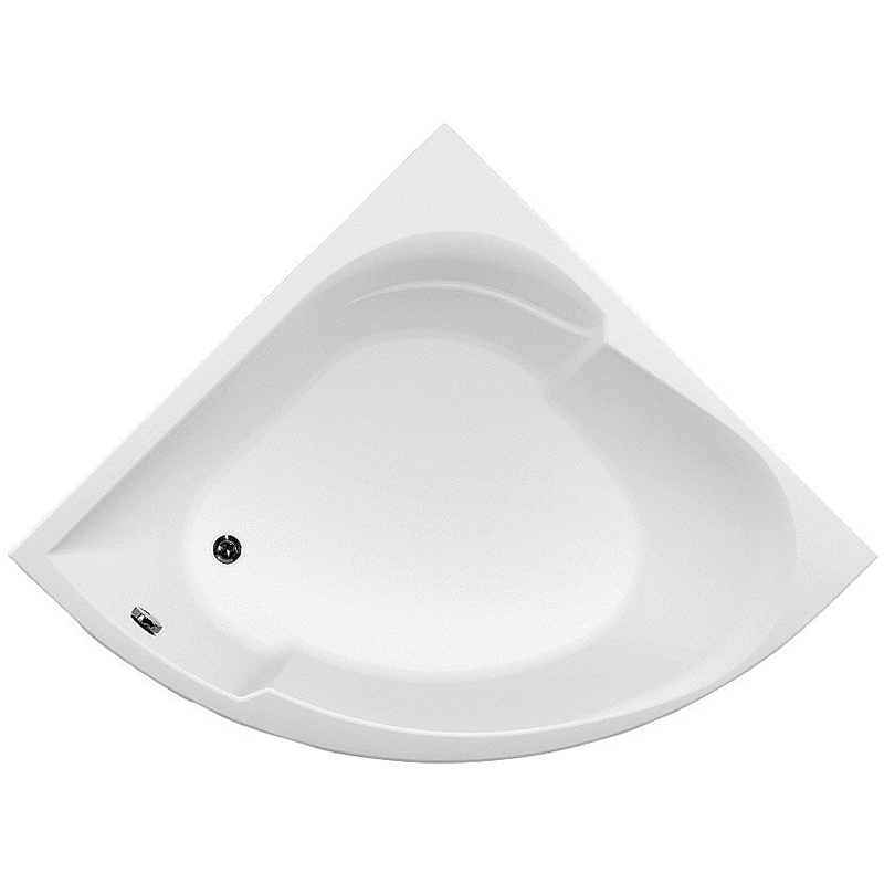 Bali 150x150 с гидромассажемВанны<br>Акриловая ванна Aquanet Bali 150x150 угловая в форме четверти круга.<br>Вместительная ванна с изящным дизайном дополнит интерьер ванной комнаты в современном стиле.<br>Изготовлена из качественного акрила: гладкого и теплого на ощупь материала. Он быстро нагревается и долго сохраняет тепло воды. Благодаря отсутствию пор на поверхности не скапливается грязь и микробы.<br>Антискользящее покрытие (специальные насечки на дне ванны).<br>Удобный угол наклона спинки.<br>Размер: 150x150x69,5 см.<br>Глубина: 53,5 см.<br>Объем: 350 л.<br>Гидромассажная система:<br>Плоские форсунки, плотно прилегающие к поверхности ванны. Ручная регулировка направления потока воды, индивидуальное включение или выключение каждой форсунки. <br>6 гидромассажных форсунок диаметром 50 мм.<br>Материал: латунь.<br>Цвет: хром.<br>В комплекте поставки: ванна, каркас, гидромассажная система.<br>