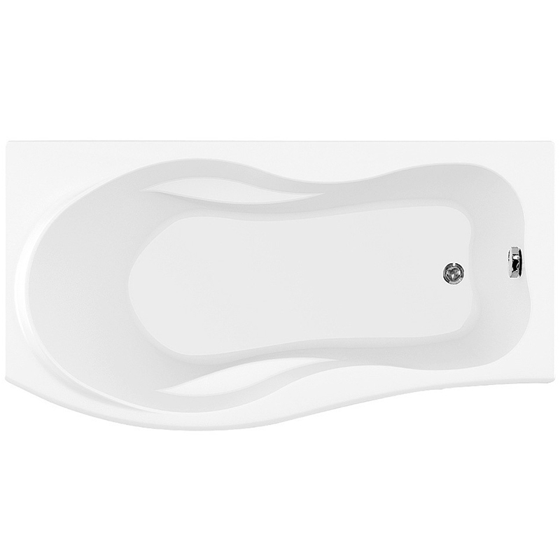 Borneo 170x90 с гидромассажем RВанны<br>Акриловая ванна Aquanet Borneo 170x90 R асимметричная.<br>Правосторонняя.<br>Вместительная ванна с изящным дизайном дополнит интерьер ванной комнаты в современном стиле.<br>Изготовлена из качественного акрила: гладкого и теплого на ощупь материала. Он быстро нагревается и долго сохраняет тепло воды. Благодаря отсутствию пор на поверхности не скапливается грязь и микробы.<br>Антискользящее покрытие (специальные насечки на дне ванны).<br>Удобный угол наклона спинки.<br>Встроенный подголовник и подлокотники.<br>Размер: 170x90x71 см.<br>Глубина: 48.5 см.<br>Объем: 240 л.<br>Гидромассажная система:<br>Плоские форсунки, плотно прилегающие к поверхности ванны. Ручная регулировка направления потока воды, индивидуальное включение или выключение каждой форсунки. <br>6 гидромассажных форсунок диаметром 77 мм.<br>Материал: латунь.<br>Цвет: хром.<br>В комплекте поставки: ванна, каркас, гидромассажная система.<br>