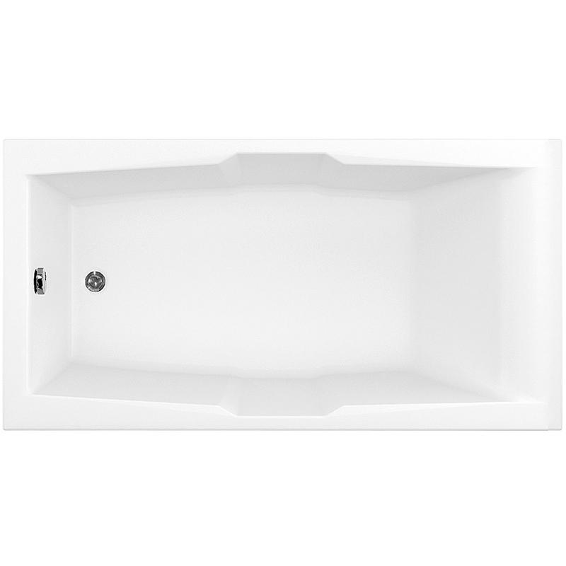 Акриловая ванна Aquanet Vega 190x100 без гидромассажа акриловая ванна 190x100 см aquanet vega 00205556