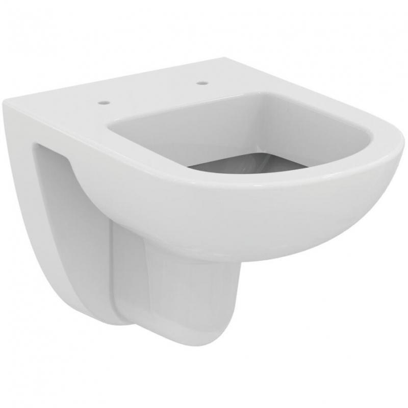 Фото - Унитаз Ideal Standard Tempo T328801 подвесной без сиденья унитаз подвесной ideal standard tempo t328801