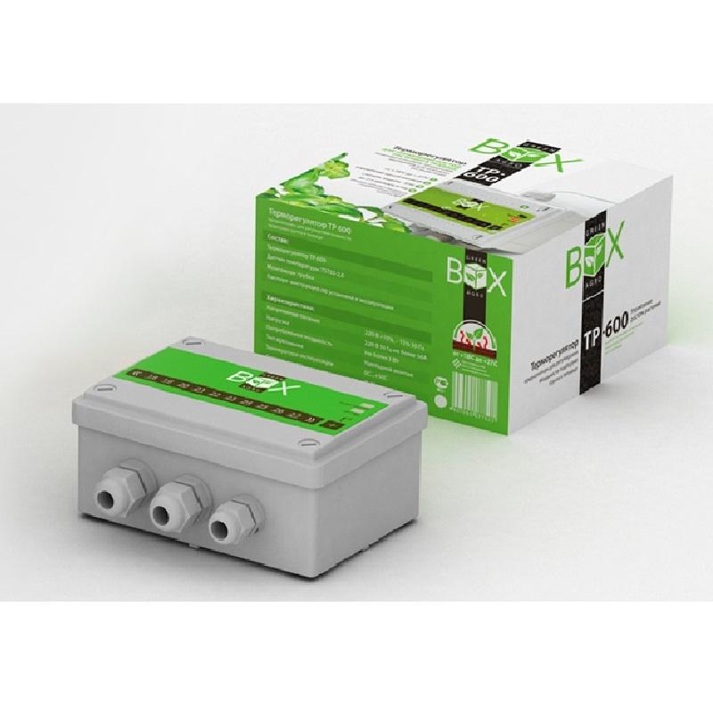 Терморегулятор Green Box Green Box ТР 600 4305651319 Светло-серый