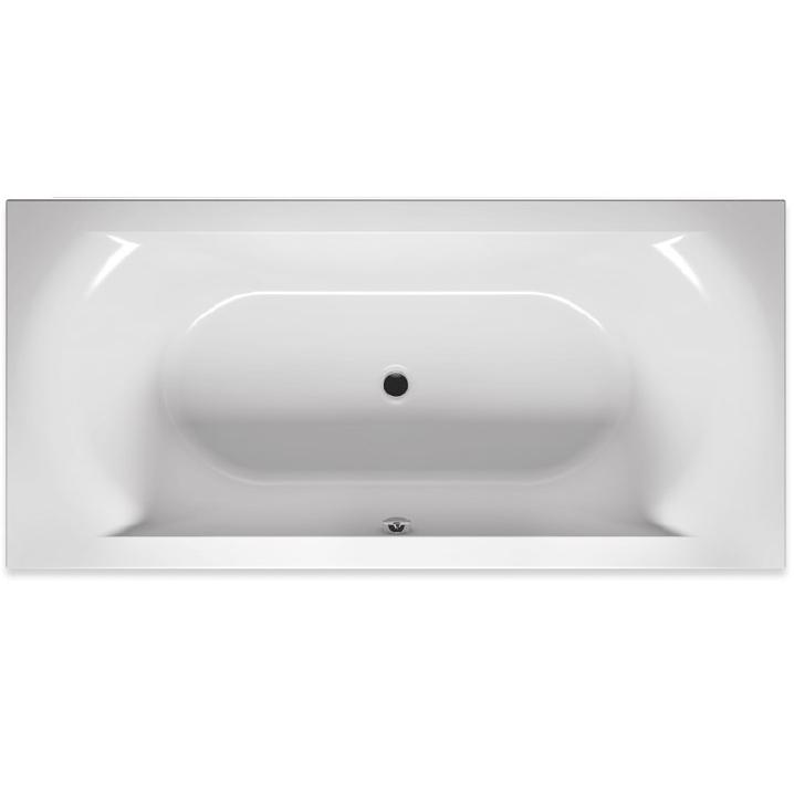 Акриловая ванна Riho Lima 190x90 без гидромассажа ванна из искусственного камня jacob delafon elite 190x90 с щелевидным переливом e6d033 00 без гидромассажа