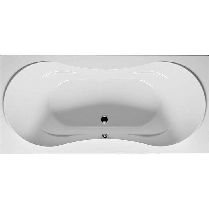 Акриловая ванна Riho Supreme 190x90 без гидромассажа ванна из искусственного камня jacob delafon elite 190x90 с щелевидным переливом e6d033 00 без гидромассажа