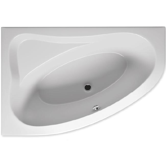 Акриловая ванна Riho Lyra 154x101 R без гидромассажа акриловая ванна riho lyra 140x90 r без гидромассажа