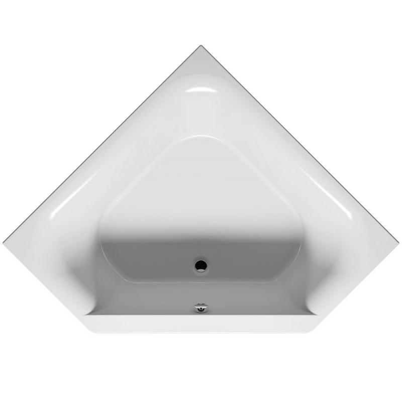 Austin 145x145 без гидромассажаВанны<br>Акриловая ванна Riho Austin 145x145 в форме четверти круга. Ванна сочетает в себе компактность и вместительность, отлично дополнит большинство современных интерьеров.<br>Изготовлена из литого санитарного акрила толщиной 0,5 см. Это гладкий и теплый на ощупь материал, он не впитывает грязь и прост в уходе. <br>Ванна армирована стекловолокном с примесью полиэстра. Дно усилено ламинированным листом ДСП, что придает конструкции большую прочность и устойчивость.<br>Размер: 145x145x48 см.<br>Объем: 350 л.<br>Монтаж: на ножки.<br>В комплекте поставки: чаша ванны.<br>