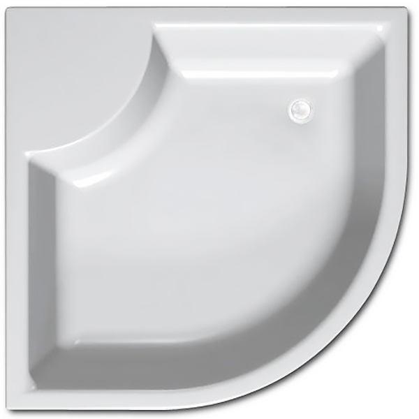 Акриловый поддон для душа Kolpa San Dixie 90x90x41 Белый цена