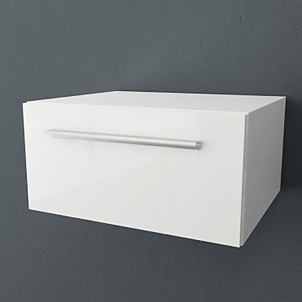 Jolie 60 БелаяМебель для ванной<br>Тумба Kolpa San Jolie OJ 60 подвесная для ванной комнаты.<br>Габариты: 60x49,5x30 см. <br>Материал: влагостойкое ДСП с покрытием мембранной пленкой. <br>Гладкая глянцевая поверхность. <br>Влагостойкие клеи и угловые ленты. <br>1 выдвижной ящик. <br>Ручки цвета хром.<br>Безупречное качество, подтвержденное европейским сертификатом. <br>Цвет: белый.<br>