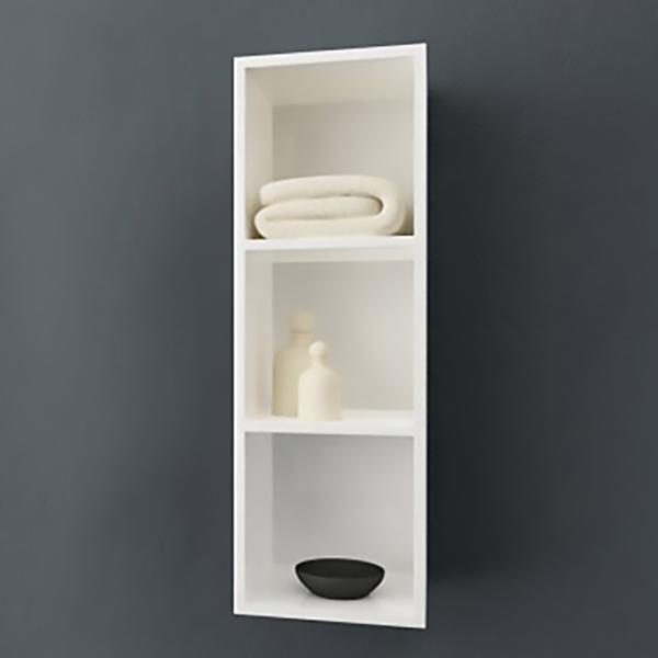 Jolie J900 WH/WH БелыйМебель для ванной<br>Шкаф-пенал Kolpa San Jolie J900 WH/WH подвесной.<br>Габариты: 30x30x90 см. <br>Материал: влагостойкое ДСП с покрытием мембранной пленкой. <br>Гладкая глянцевая поверхность. <br>Влагостойкие клеи и угловые ленты. <br>Шкафчик открытого типа, 3 полки. <br>Безупречное качество, подтвержденное европейским сертификатом. <br>Цвет: белый.<br>