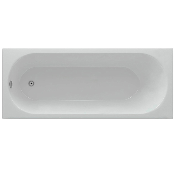 Акриловая ванна Акватек Оберон 170х70 с гидромассажем плоские форсунки