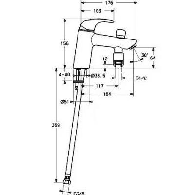 Схема смесителя для ванной. схема смесителя для ванной.