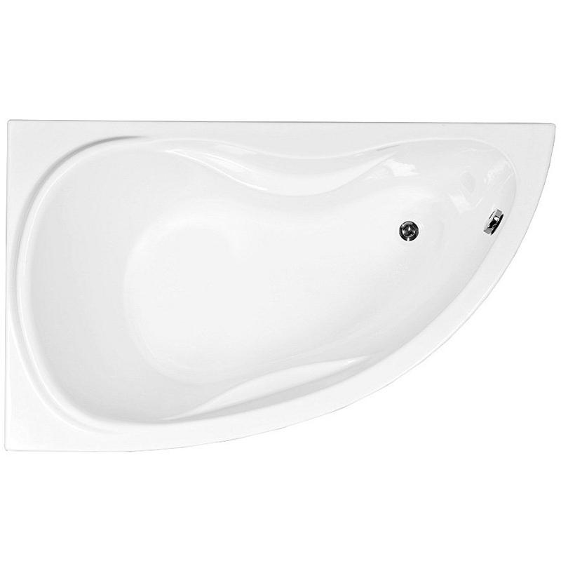 Maldiva 150x90 с гидромассажем LВанны<br>Акриловая ванна Aquanet Maldiva 150x90 L асимметричной формы.<br>Установка в левый угол.<br>Вместительная ванна с изящным дизайном дополнит интерьер ванной комнаты в современном стиле.<br>Изготовлена из качественного акрила: гладкого и теплого на ощупь материала. Он быстро нагревается и долго сохраняет тепло воды. Благодаря отсутствию пор на поверхности не скапливается грязь и микробы.<br>Антискользящее покрытие (специальные насечки на дне ванны).<br>Размер: 150x90x65 см.<br>Глубина: 45 см.<br>Объем: 190 л.<br>Гидромассажная система:<br>Плоские форсунки, плотно прилегающие к поверхности ванны. Ручная регулировка направления потока воды, индивидуальное включение или выключение каждой форсунки. <br>6 гидромассажных форсунок диаметром 77 мм.<br>Материал: латунь.<br>Цвет: хром.<br>В комплекте поставки: ванна, каркас, гидромассажная система.<br>