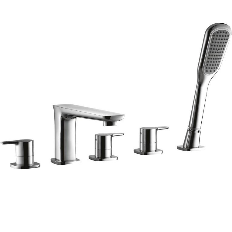 все цены на Смеситель на борт ванны Cezares Tesoro F-BVD5-01 Хром онлайн