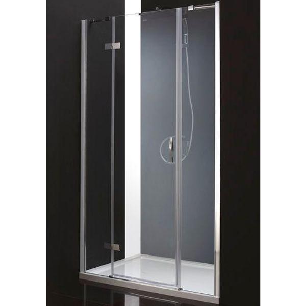 Душевая дверь в нишу Cezares Bergamo B-13 30+60/40 L профиль Хром стекло рифленое душевая дверь в нишу cezares bergamo b 13 60 60 60 l профиль хром стекло рифленое
