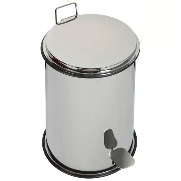 Ведро для мусора Migliore Complementi ML.COM-50.107 CR (хром)