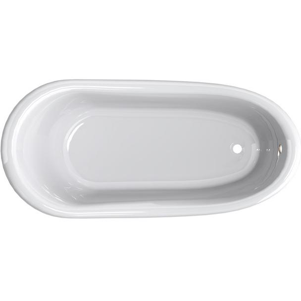 Ванна из литьевого мрамора Astra Form Роксбург 170х78 без гидромассажа в цвете Ral ванна astra form роксбург белая