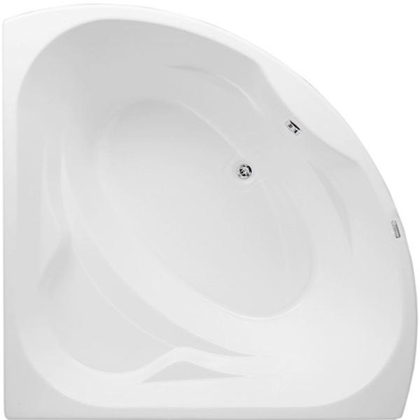 Vitoria 135x135 с гидромассажемВанны<br>Акриловая ванна Aquanet Vitoria 135x135 в форме четверти круга.<br>Вместительная ванна с изящным дизайном дополнит интерьер ванной комнаты в современном стиле.<br>Изготовлена из качественного акрила: гладкого и теплого на ощупь материала. Он быстро нагревается и долго сохраняет тепло воды. Благодаря отсутствию пор на поверхности не скапливается грязь и микробы.<br>Антискользящее покрытие (специальные насечки на дне ванны).<br>Ванна армирована МДФ-плитами.<br>Размер: 135x135x61 см.<br>Глубина: 46,5 см.<br>Объем: 270 л.<br>Гидромассажная система:<br>Плоские форсунки, плотно прилегающие к поверхности ванны. Ручная регулировка направления потока воды, индивидуальное включение или выключение каждой форсунки. <br>6 гидромассажных форсунок диаметром 50 мм.<br>Материал: латунь.<br>Цвет: хром.<br>В комплекте поставки: ванна, каркас (регулировка до 100 мм), гидромассажная система.<br>