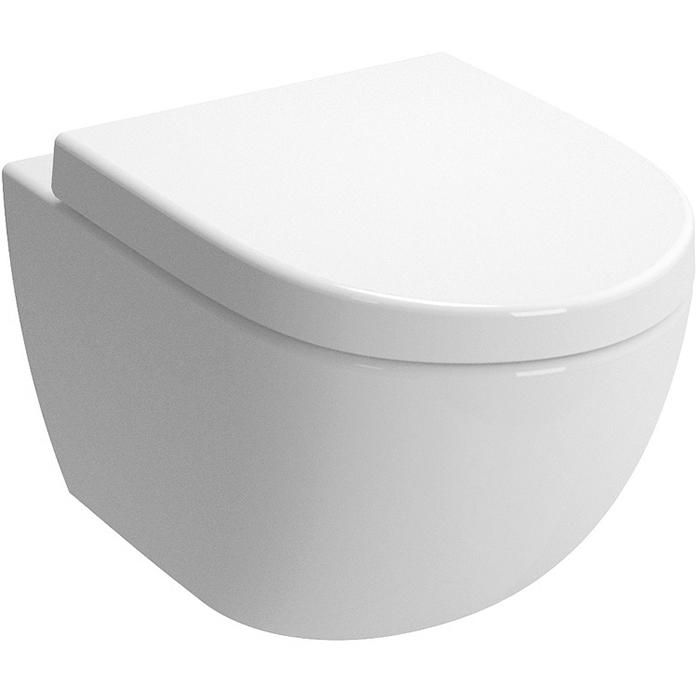 Sento 4448B003-6073 подвесной с сиденьем МикролифтУнитазы<br>Подвесной унитаз Vitra Sento 4448B003-6073.<br>Эргономичная модель унитаза для ванных комнат в современном стиле.<br>Изготовлен из санфарфора - гладкого материала без пор. Благодаря качественной эмали он прост в уходе и долго сохраняет первоначальную белизну и блеск. Тщательная эмалировка унитаза обеспечивает превосходную гигиеничность.<br>Унитаз отличается долговечностью и прочностью: он выдерживает нагрузку до 400 килограммов.<br>Экологичность в производстве и материалах, подтвержденная сертификатами LCA, EPD и FSC.<br>Быстрый и легкий монтаж унитаза.<br>Сиденье с микролифтом, выполненное из дюропласта.<br>Микролифт или Soft Close - механизм плавного открытия и закрытия крышки. Он продлевает срок службы крышки-сиденья, поскольку на ее поверхности не появляются микротрещинки.<br>Срок эксплуатации сиденья рассчитан на 50000 поднятий и опусканий. Это значит, что семья из трех человек сможет пользоваться им на протяжении 15 лет.<br>В комплекте поставки: чаша унитаза, крышка-сиденье с микролифтом.<br>