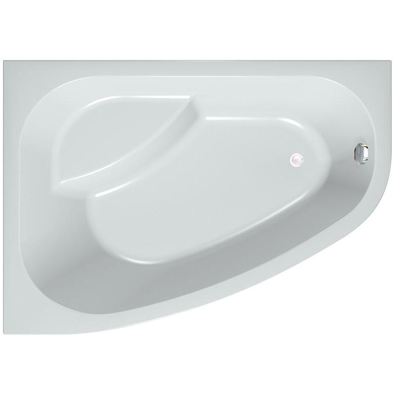 Акриловая ванна Kolpa San Chad 170x120 S L Basis акриловая ванна с гидромассажем kolpa san chad s magic l 170x120 см левая на каркасе слив перелив
