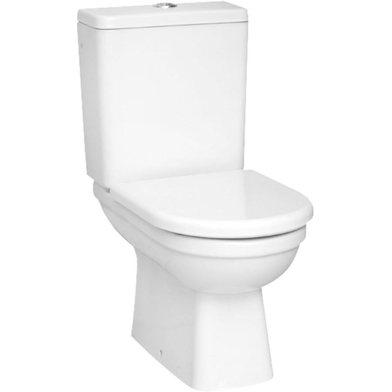 Унитаз компакт Vitra Form 300 9729B003-7200 с бачком и сиденьем Микролифт унитаз компакт напольный sanita виктория комфорт