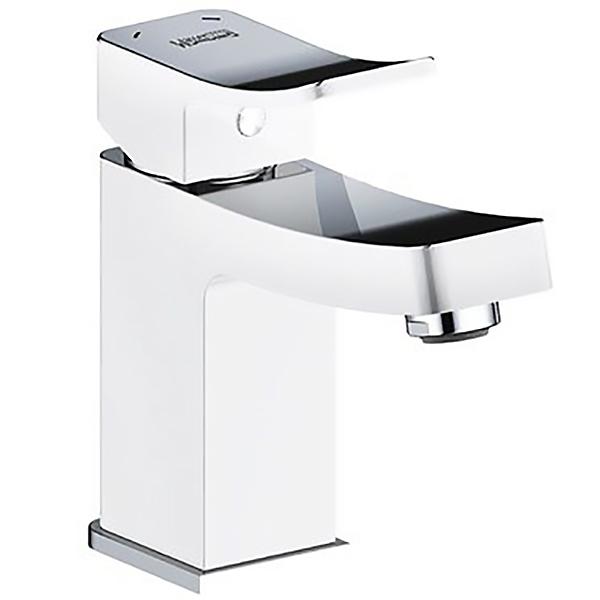 Смеситель для раковины WasserKRAFT Aller 1063W Хром Белый смеситель для раковины wasserkraft aller 1063w