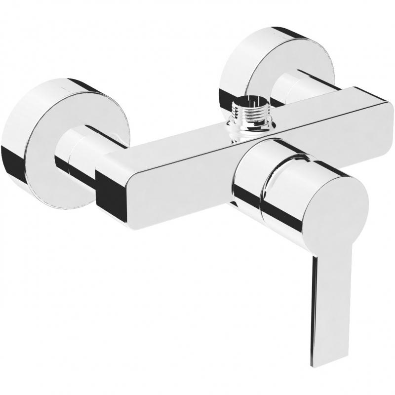 Смеситель для душа Vitra Flo S A41938EXP Хром vitra flo s a41937exp для ванны с душем