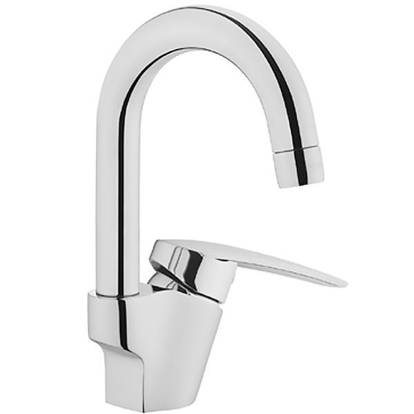 Dynamic S A42418EXP ХромСмесители<br>Смеситель для раковины Vitra Dynamic S A42418EXP.<br>Особенности: <br>Ограничение температуры и напора воды,<br>Аэратор,<br>Поворотный излив,<br>Керамический картридж,<br>Максимальный расход воды: 9 л/мин.<br>В комплекте поставки: <br>