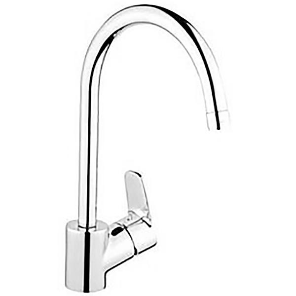 D line A42076EXP ХромСмесители<br>Смеситель Vitra D line A42076EXP для кухни. Поворот излива на 360 градусов.<br>