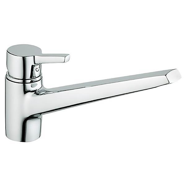 Slope A42064EXP ХромСмесители<br>Смеситель для кухни Vitra Slope A42064EXP.<br>Особенности: <br>Поворотный излив,<br>Ограничение напора и температуры воды,<br>Керамический картридж,<br>Максимальный расход воды: 9 л/мин.<br>В комплекте поставки: <br>Смеситель. <br>