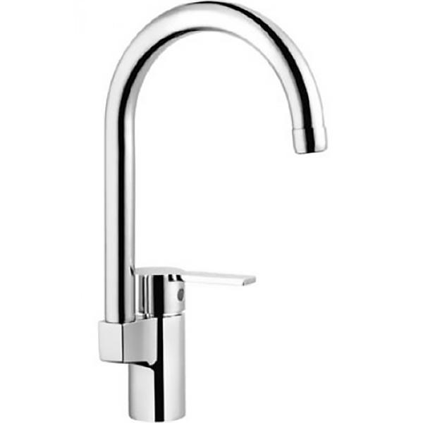 Fuga A41064EXP  ХромСмесители<br>Смеситель для кухни Vitra Fuga A41064EXP.<br>Особенности: <br>Поворотный излив,<br>Керамический картридж,<br>Максимальный расход воды: 9 л/мин.<br>В комплекте поставки: <br>Смеситель. <br>