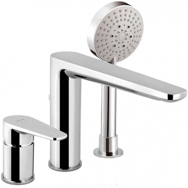 лучшая цена Смеситель на борт ванны AM PM Inspire F5001300 Хром