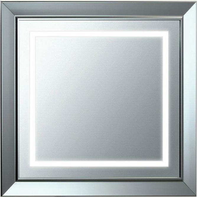 Зеркало Laufen LB 3 75 с подсветкой Хром матовый зеркало laufen alessi one 80 с подсветкой хром матовый
