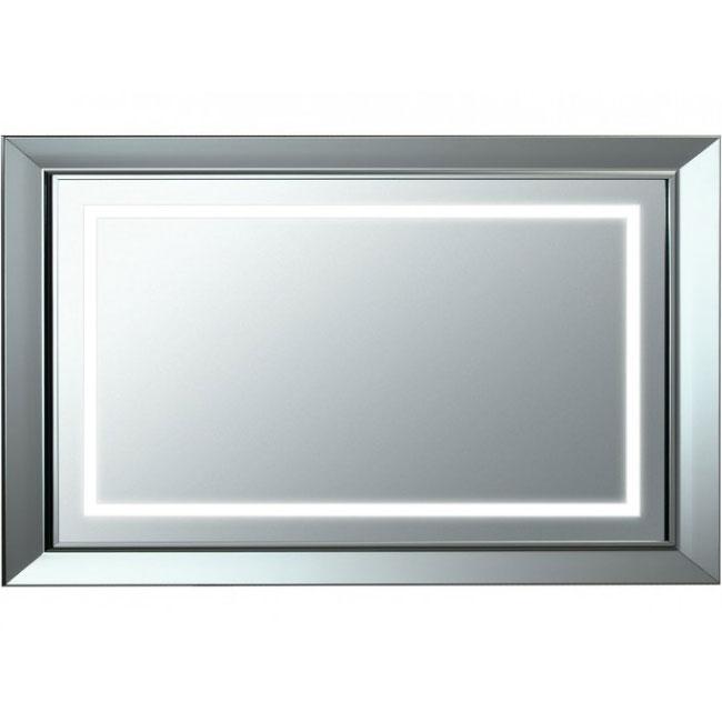 Зеркало Laufen LB 3 120 с подсветкой Хром матовый зеркало laufen alessi one 80 с подсветкой хром матовый