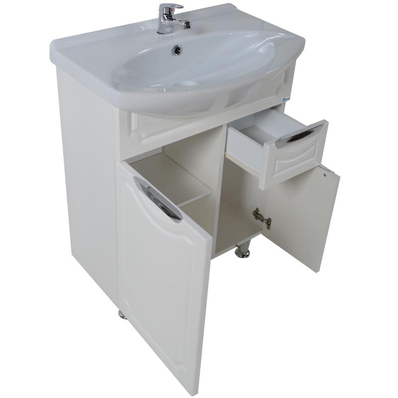 Тумба под раковину АСБ-мебель Санремо 65 Белая