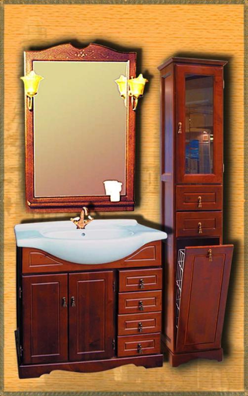 Clio 75 НагалМебель для ванной<br>Мебель для ванной Два Водолея Clio 75. Цвет нагал. В стоимость входит тумба. Все остальное приобретается отдельно.<br>