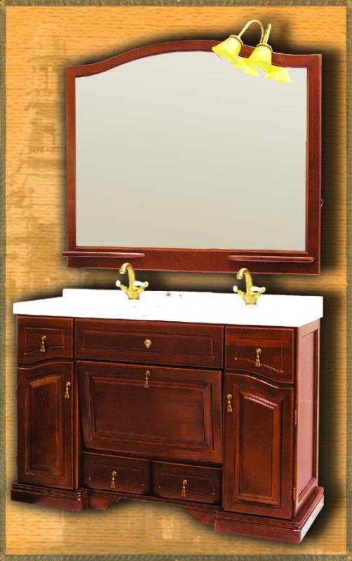 Clio 140 НагалМебель для ванной<br>Мебель для ванной Два Водолея Clio 140. Цвет нагал. В стоимость входит тумба. Все остальное приобретается отдельно.<br>