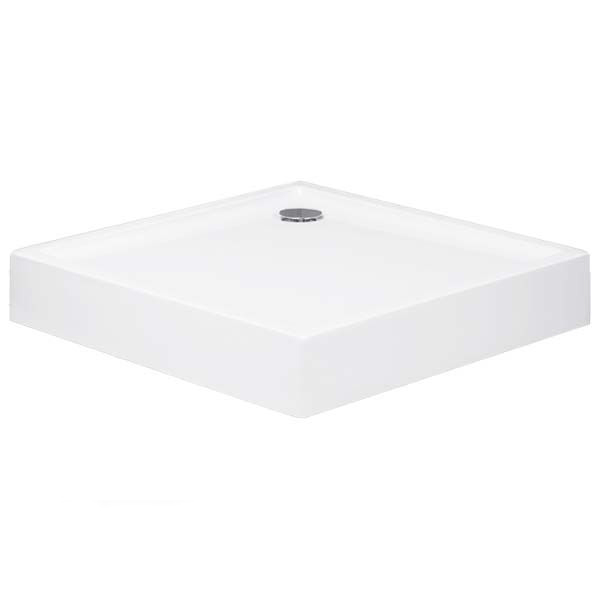 Xerano 840102.055 Белый акрилДушевые поддоны<br>Пристенный, пристенный в угол, в нишу, напольный поддон для душа Huppe Xerano 840102.055 квадратный.<br>