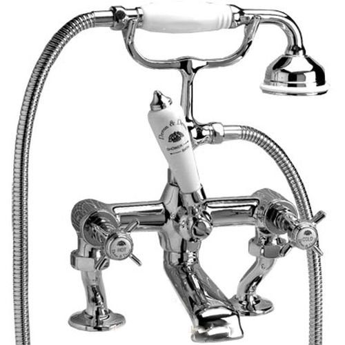 Dandy MARF40BCR ХромСмесители<br>Cмеситель для ванны и душа Devon&amp;Devon из коллекции  Dandy, устанавливаемый на борт, с ручным душем и шлангом.<br>